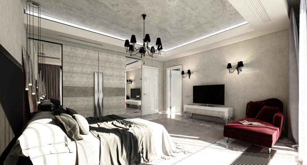 Стильный дизайн спальни с минимальными затратами