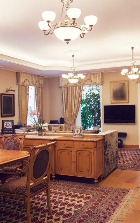 Квартира на Малой Бронной, 230 кв. м.