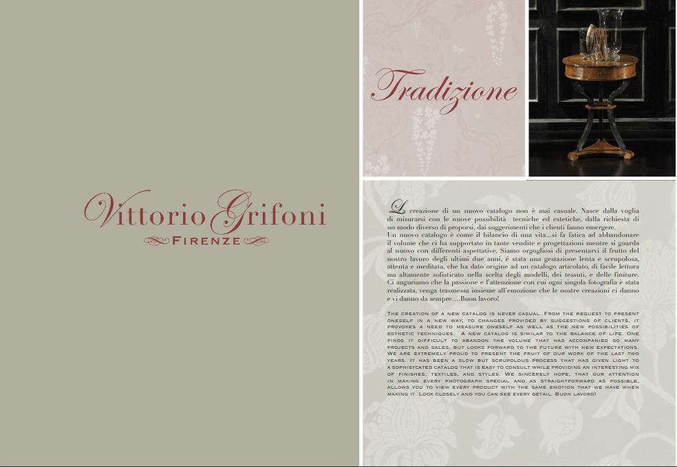 VITTORIO GRIFONI TRADIZIONE