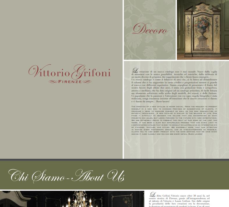 VITTORIO GRIFONI DECORO