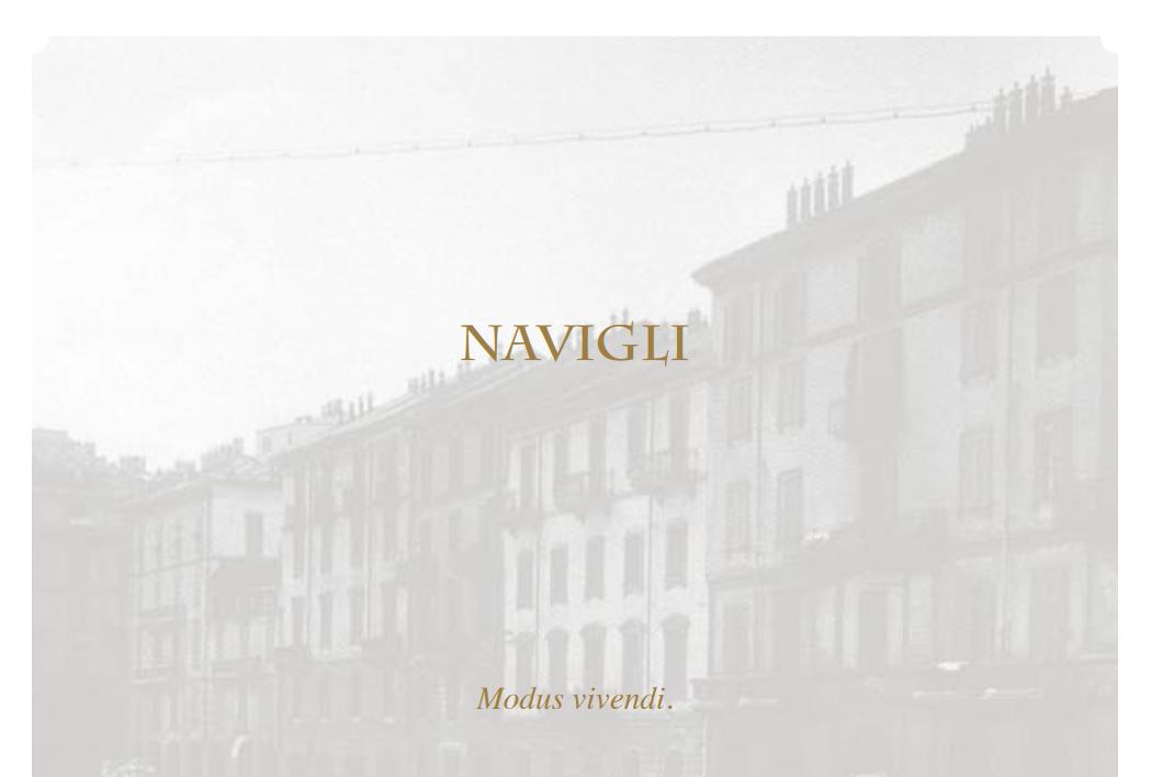 Prestige Navigli