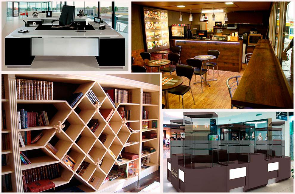 Мебель для разных помещений